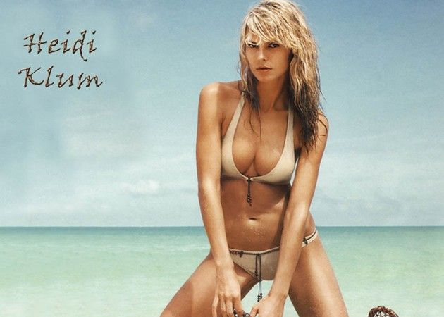 Heidi Klum es la más 'peligrosa' de Internet