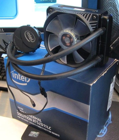 Intel muestra sistema de refrigeración líquida Sandy Bridge-E: RTS2011LC
