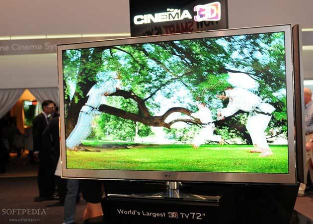 [IFA 2011] LG  LZ9900, TV 3D de 72 pulgadas