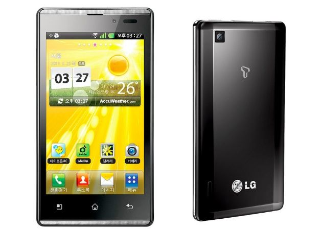 LG Optimus EX, supersmartphone Android