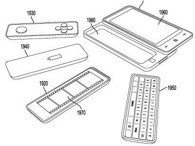 Microsoft patenta un teléfono con piezas desmontables