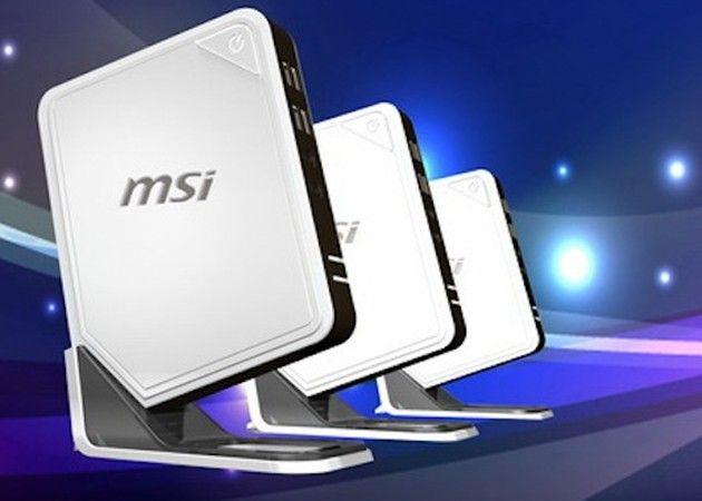 MSI Wind Box DC100, nettop con APU AMD 28