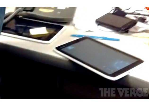 Motorola Xoom de 7 pulgadas avistado