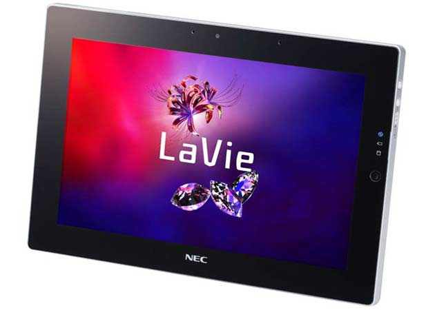 NEC presenta LaVie, tablet con Windows 7