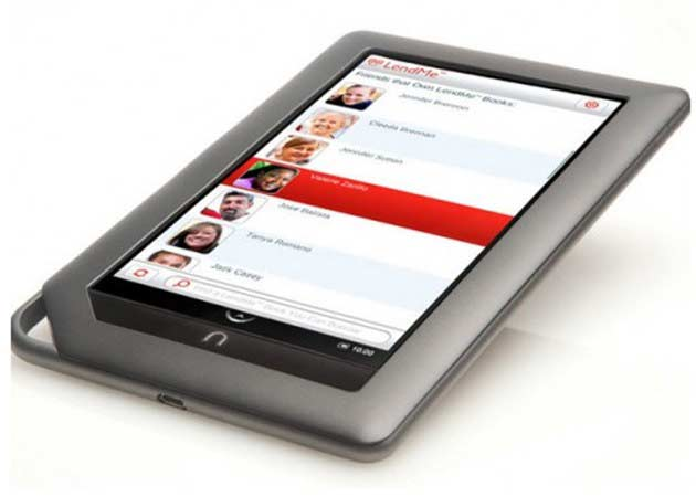 Nook Color 2 en camino, e-book y tablet con Android