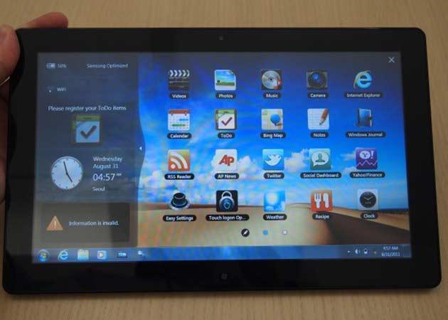 [IFA 2011] tablet Samsung Slate PC con Windows 7
