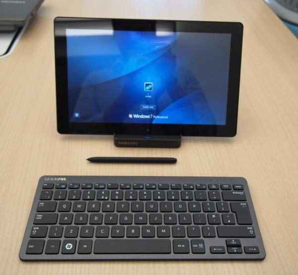 Slate PC Series 7, el tablet PC puro Core i5 de Samsung 29