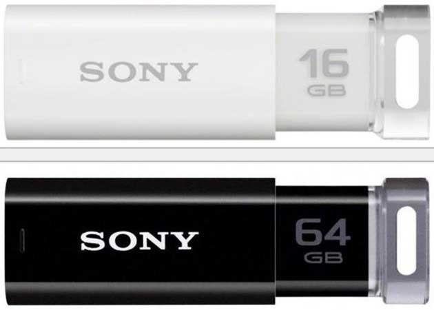 Pendrives Sony Micro Vault a la venta en Europa