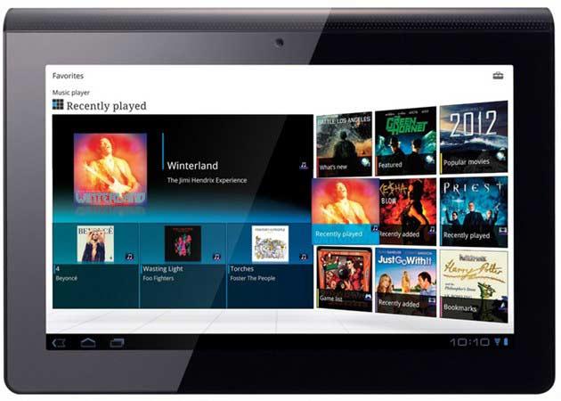 Sony ya ofrece el Tablet S en reserva