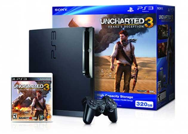 Edición especial PS3 con Uncharted 3: Drake's Deception