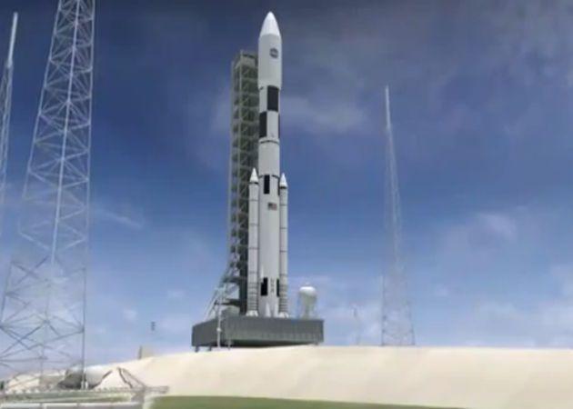 NASA muestra el cohete que nos llevará a Marte