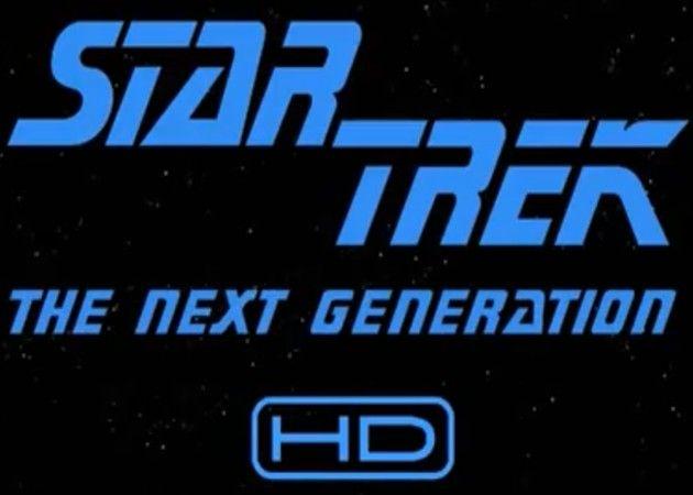 Star Trek: The Next Generation, serie en Blu-ray