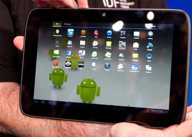 Intel muestra su primer tablet Medfield con Android