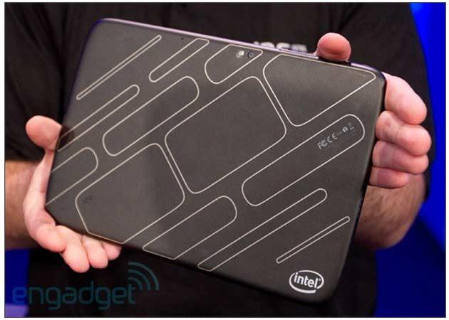 Intel muestra su primer tablet Medfield con Android 29