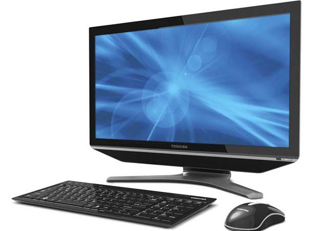 Toshiba amplía gama de ordenadores AIO con el DX735 táctil