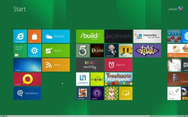 Windows8 escritorio 2 630x393 Descargar Windows 8 Ultimate Final 32 Bits 64 Bits + Serial 1 Link