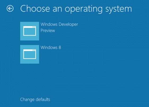 Nuevo administrador de arranque en Windows 8