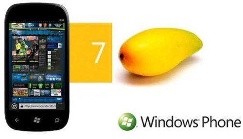 La actualización de Windows Phone 7 Mango podría trasladarse al 15 de septiembre
