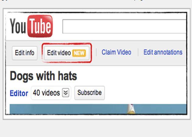 YouTube incorpora función de edición de vídeo