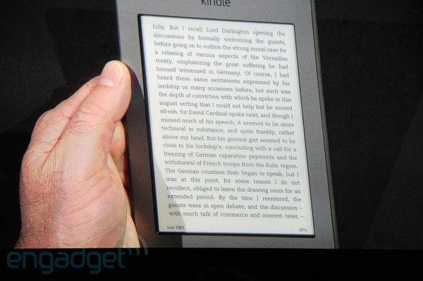 Amazon Kindle Touch Wi-Fi y 3G, 99$ y 149$ 29