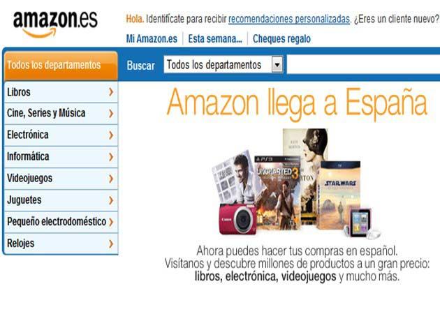 Amazon.es abierto