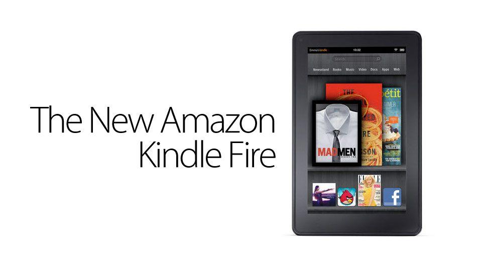 Kindle Fire de Amazon, presentado oficialmente