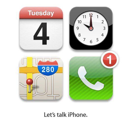 iPhone 5 el próximo 4 de octubre, confirmación oficial