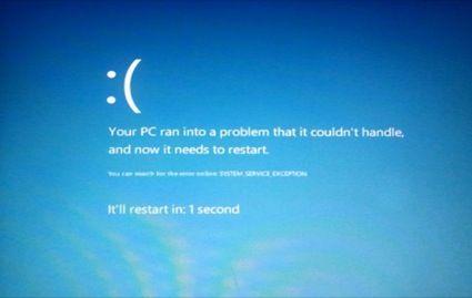 Windows 8 seguirá teniendo pantallazos azules, pero más bonitos