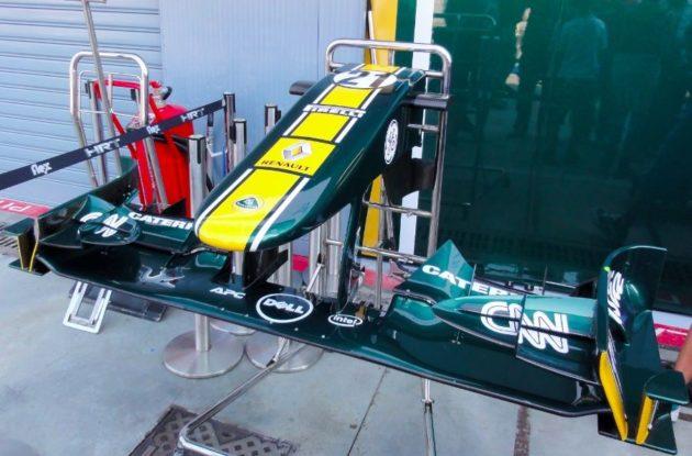 Dell y su paso por la Fórmula 1 con Team Lotus 31