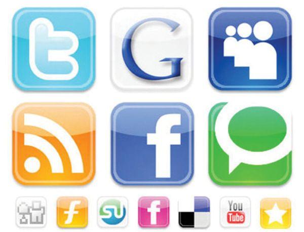 El crecimiento de los medios sociales (Infografía)