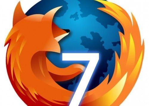 Ya está aquí Firefox 7