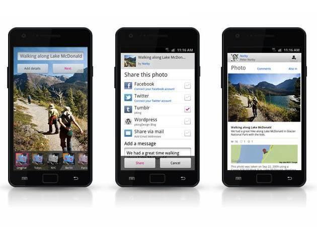 Flickr presenta su app para Android, muy a lo Instagram
