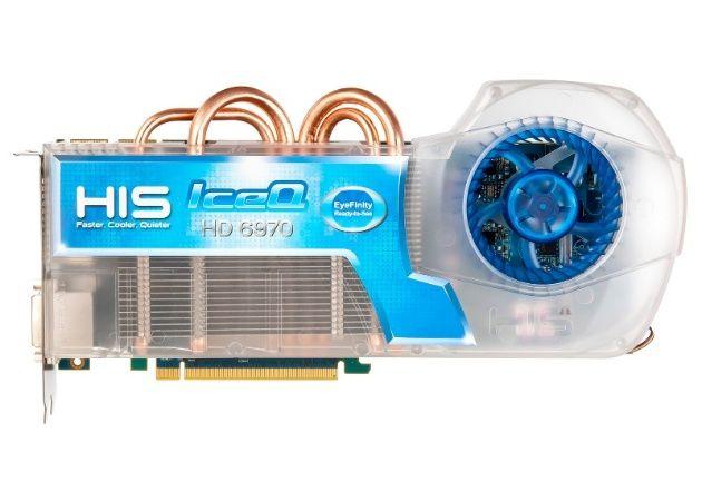 EyeFinity para todos con HIS Radeon HD 6970 IceQ EyeFinity RTS