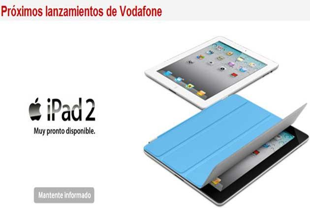 iPad 2 con Vodafone y Orange a partir del 30 de septiembre