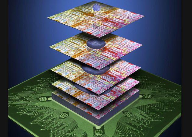 IBM y 3M desarrollan adhesivo para crear semiconductores 3D