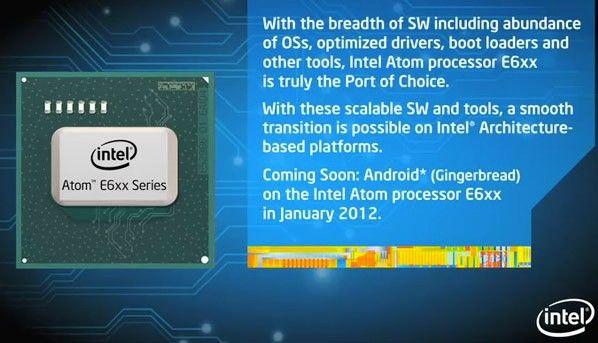 Android llegará a los nuevos Atom N6xx en enero del próximo año