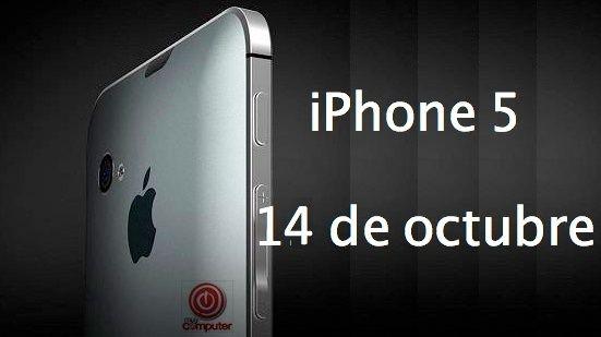 iphone5 14oct iPhone 5 llegará inicialmente a EE.UU., Reino Unido, Alemania, Francia y Japón
