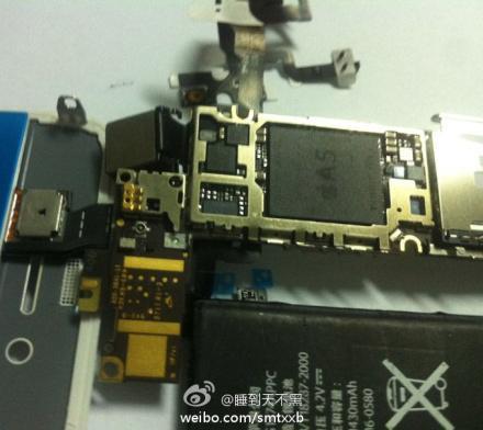 Os mostramos el interior de un iPhone 5