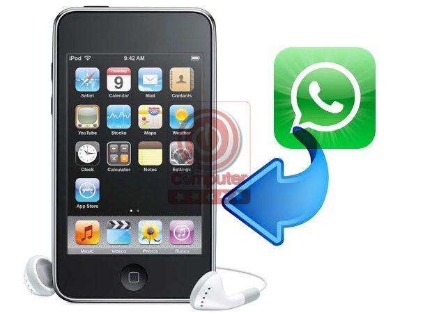 Guía para hacer funcionar WhatsApp en iPod touch 4G 30