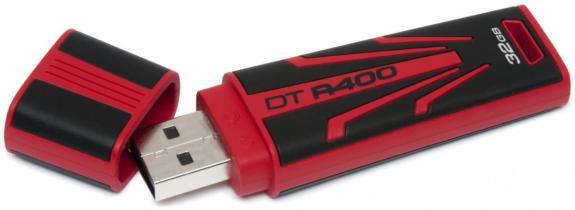 Kingston lanza DataTraveler R400, resistente y económico 28