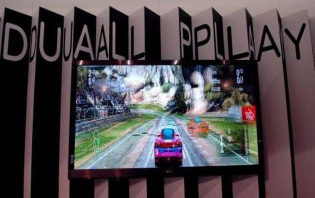 """LG promete juegos multijugador a toda pantalla: """"Dual Play"""""""