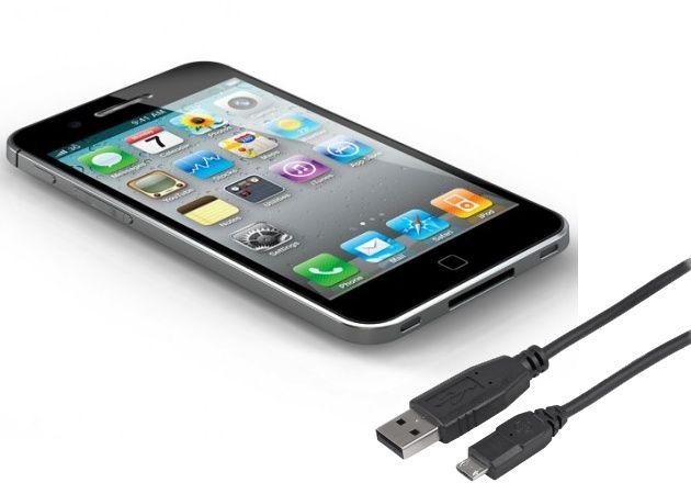 ¿Llegará iPhone 5 a Europa con conexión microUSB?
