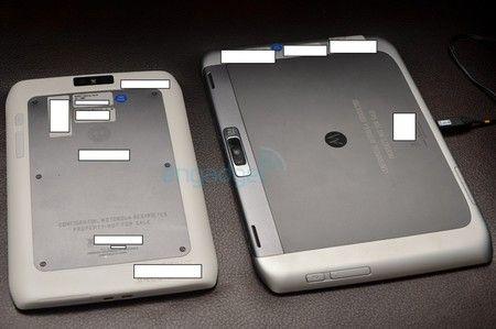 Primeras imágenes de los tablets Motorola XOOM de 8 y 10 pulgadas