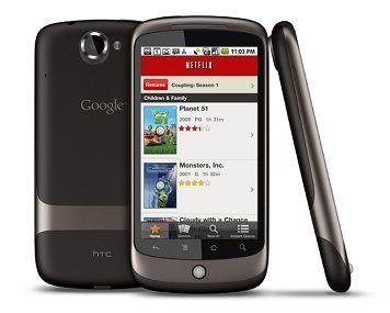 Netflix disponible para todos los móviles Android Froyo y Gingerbread