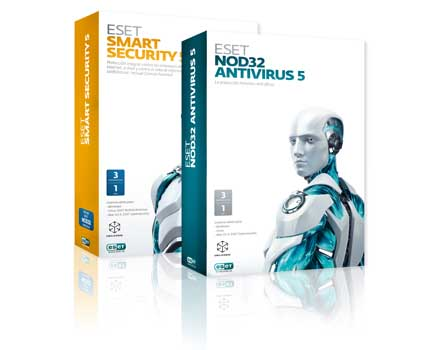 ESET Smart Security 5 y ESET NOD32 Antivirus 5