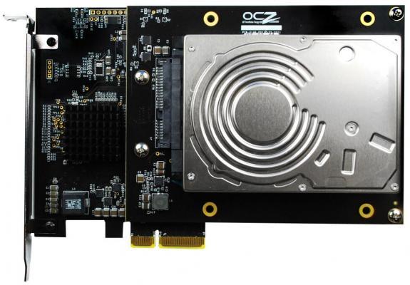 OCZ RevoDrive Hybrid PCIe, 1,1 Tbytes que rinden 910 Mbytes/s