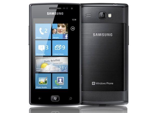 Samsung Omnia W, smartphone Windows Phone 7.5 Mango