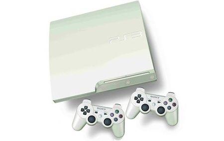 PS3 en color blanco llegará a Europa en noviembre