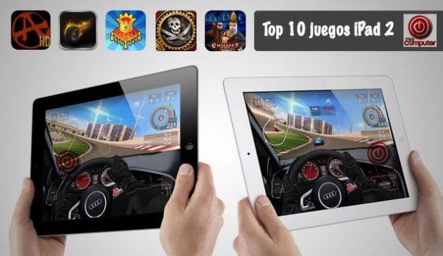 Top 10 juegos iPad 2 -septiembre 2011-