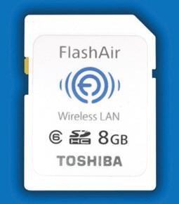 [IFA 2011] Toshiba FlashAir, tarjeta SD con Wi-Fi